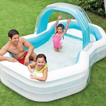 Immagine di INTEX PISCINA FAMILY ''CABANA'' cm.310X188